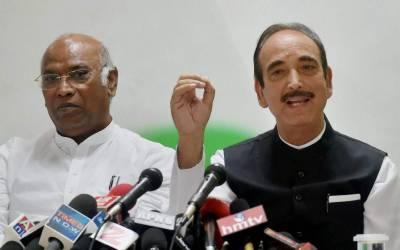 بھارت میں اقلیتوں کے حقوق غیر محفوظ ہیں: غلام نبی آزاد