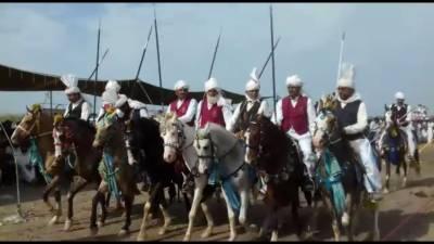 جلال پوربھٹیاں کے نواحی گاؤں کوٹ غازی میں میلہ جشن بہاراں اختتام پذیر