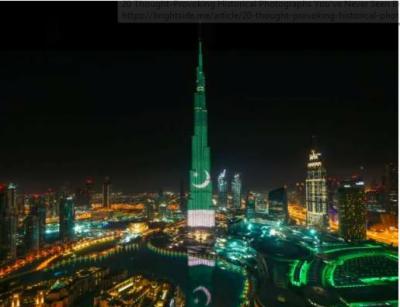 دبئی شاپنگ مال میں پاکستانیوں کے قومی ترانہ پڑھنے کی ویڈیو سوشل میڈیا پر وائرل ہوگئی