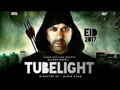 سلمان خان کی فلم ''ٹیوب لائٹ'' نے نمائش سے قبل132 کروڑ کی ڈیل کرلی