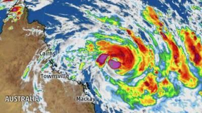 آسٹریلیا میں انتہائی خطرناک سمندری طوفان نے تباہی مچا دی