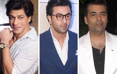 کرن جوہر کی شاہ رخ خان اور رنبیر کپور کو ایک ساتھ لانے کی تیاریاں