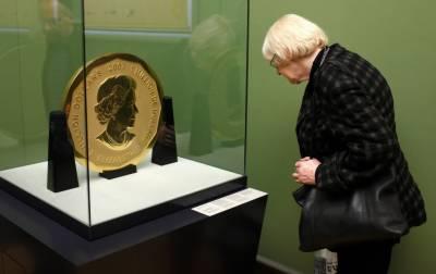 برلن کے عجائب گھر سے 100 کلو گرام وزنی سونے کا سکہ چوری