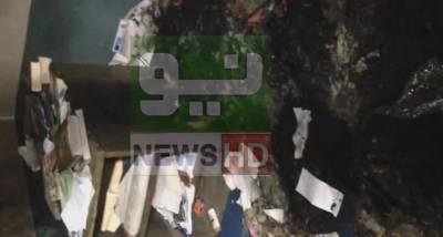 پنجاب یونیورسٹی میں کشیدگی تاحال برقرار، ہاسٹل کے دو کمرے جلا دیئے گئے