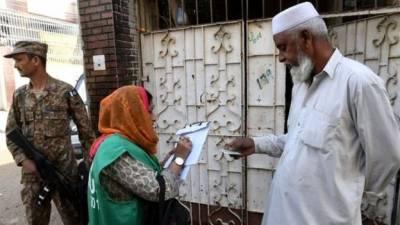 کراچی: رات کے وقت بے گھر افراد کی مردم شماری کا سلسلہ جاری