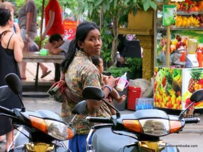 امریکی کمپنی کا کمبوڈیا میں غریب خواتین کے دودھ کا کاروبار