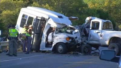 ٹیکساس: حادثے میں 12 افراد ہلاک، 2 زخمی