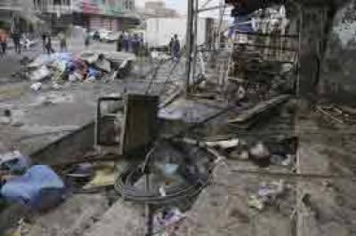 عراق: بغداد میں ٹرک بم دھماکا، 17 افراد ہلاک
