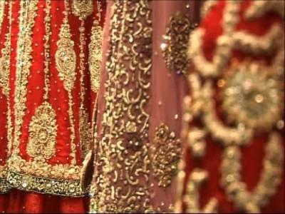 کراچی میں عروسی ملبوسات کا رنگا رنگ میلہ ، برائیڈل ویک کی تیاریاں عروج پر پہنچ گئیں