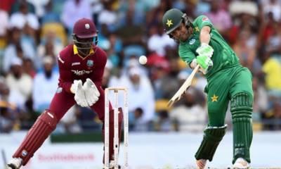 پاکستان کا ویسٹ انڈیز کو جیت کیلئے 138 رنز کا ہدف