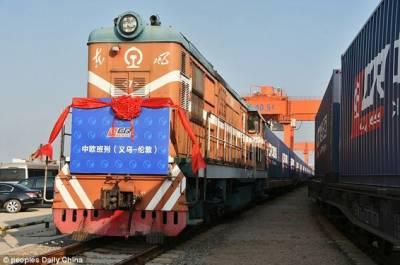 چین سے یورپ نئی مال بردار ٹرین کی ہنگری کےلئے روانگی