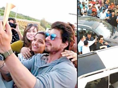 شاہ رخ خان پنجاب کے شہر لدھیانا میں فلم کی شوٹنگ میں مصروف ہیں