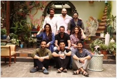 سنجے دت دوست اجے دیوگن سے ملنے گئے تھے یا پھر فلم گول مال''کا حصہ