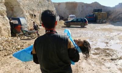 شام میں مبینہ کیمیائی حملہ ، عالمی طاقتوں کا اظہار تشویش