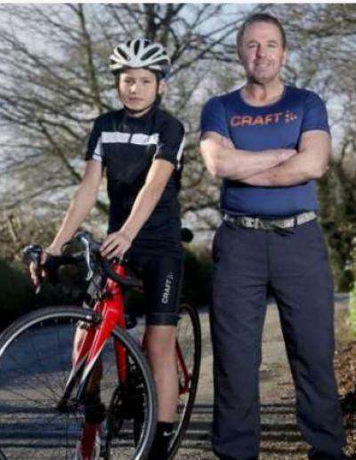 برطانوی شہری نے صرف چودہ دن میں سائیکل پر براعظم عبور کر لیا