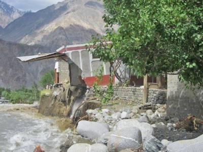 گلگت بلتستان بھر میں بارشوں نے تباہی مچادی