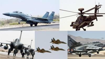 سعودی عرب خطے میں جدید ہتھیاروں سے لیس بڑی طاقت