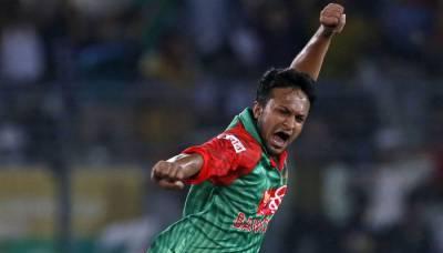 بنگلہ دیشی آل راونڈر شکیب الحسن نے بڑا اعزاز اپنے نام کر لیا