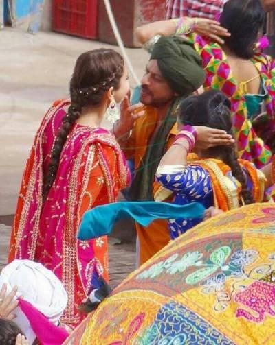 شاہ رخ کی نئی فلم، شوٹنگ کی تصاویر منظر عام پر آگئیں