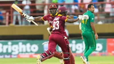 ویسٹ انڈیز نے پاکستان کو 4وکٹوں سے شکست دیدی