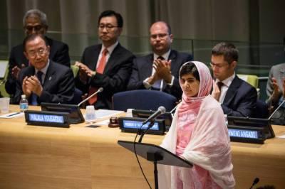 اقوام متحدہ نے ملالہ یوسف زئی امن کی پیغامبر بنانے کا فیصلہ کر لیا