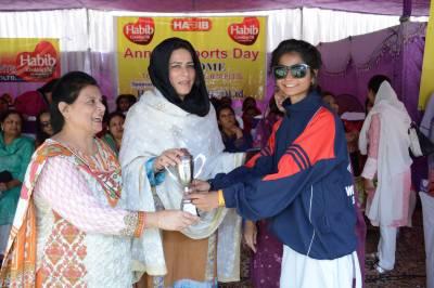 گورنمنٹ کالج برائے خواتین سمن آباد میں سالانہ اسپورٹس فیسٹیول، سیکڑوں طالبات کی شرکت