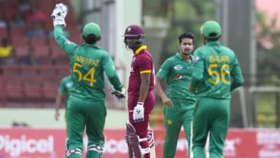 دوسرا ون ڈے :ویسٹ انڈیز کی ٹیم پاکستان کیخلاف مشکلات کا شکار