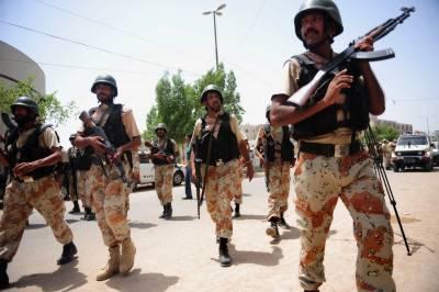ڈی جی خان :رینجرز اور قانون نافذ کرنیوالے اداروں کا آپریشن