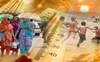 24گھنٹوں میں گرمی کی شدت میں مزید اضافہ ہوگا،محکمہ موسمیات