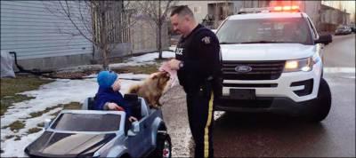 کینیڈین پولیس نے 3 سالہ بچے کا چالان کردیا