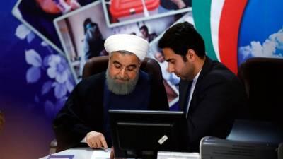 ایران: حسن روحانی نے صدارتی انتخابات کیلئے کاغذات نامزدگی جمع کرا دیئے