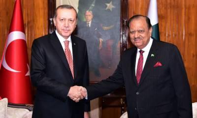 صدر پاکستان اور وزیراعظم کا ترک قیادت کو ریفرنڈم جیتنے پر مبارک باد کا پیغام