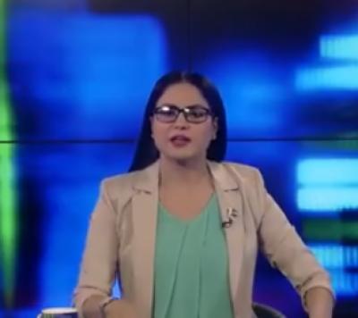 وینا ملک کا بحیثیت نیوز اینکر پہلا پروگرام ، سوشل میڈیا پر شدید تنقید کا سامنا