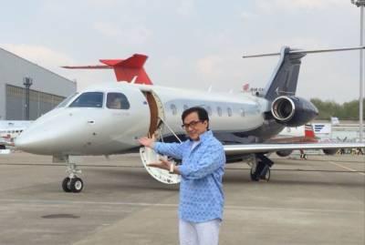 جیکی چن نے برازیل کی طیارہ ساز کمپنی ایمبرایر سے ایک اور جہاز 20 ملین ڈالرز میں خرید لیا