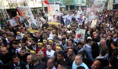 اسرائیلی جیلوں میں قید فلسطینیوں نے غیر معینہ مدت کے لیے بھوک ہڑتال شروع کر دی