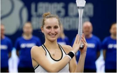 ٹینس کی دنیا میں کم عمر اسٹار کی انٹری، پہلا ڈبلیو ٹی اے ٹائٹل جیت لیا