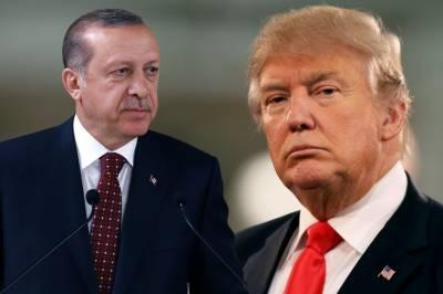 ترک ریفرنڈم پر عالمی تنقیدکے با وجود ٹرمپ کی ترک صدر کو مبارکباد