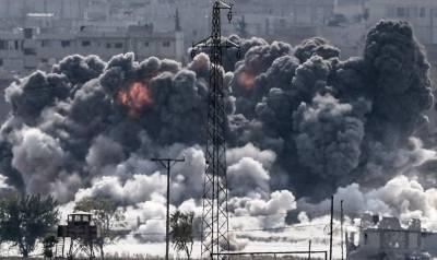 شام میں امریکی فضائی حملوں میں 20 افراد ہلاک