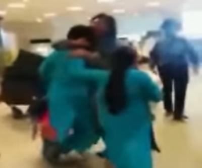 بے نظیر انٹرنیشنل ایئر پورٹ پر خواتین مسافر پر تشدد کرنے والی ایف آئی اے اہلکار معطل