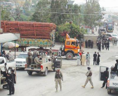 پشاور: انگوراڈہ گیٹ ٹریفک کیلئے کھول دیا گیا