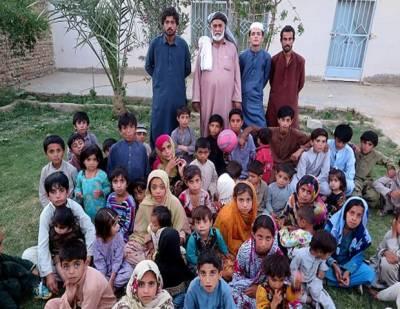 ایسا پاکستانی شہری جو 54 بچوں کا باپ ہے