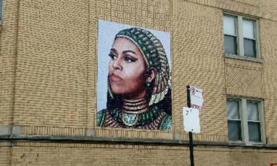 سابق امریکی خاتون اول مشیل اوباما کی چوری شدہ ایک تصویر نے متنازع بننے کے باوجود 1200 ڈالر کا چندہ حاصل کرلیا