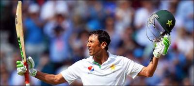 یونس خان ٹیسٹ کرکٹ میں دس ہزار رنز بنانے والے پہلے پاکستانی بن گئے