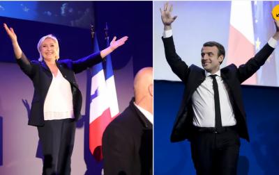 فرانس صدارتی انتخاب،الیکشن کےپہلےمرحلےمیں ووٹوں کی گنتی مکمل