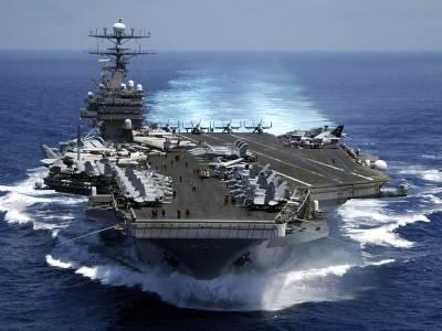 شمالی کوریا نے امریکی بحری بیڑے کارل ولسن کو نشانہ بنانے کی تیاری کر لی