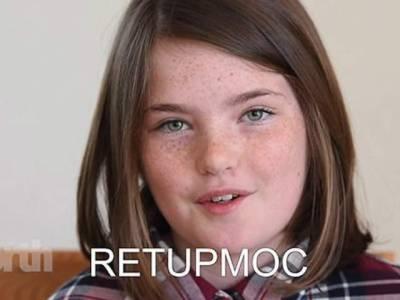 الٹے انگریزی الفاظ کو تیزی سے پڑھنے والی بچی کی ویڈیو وائرل
