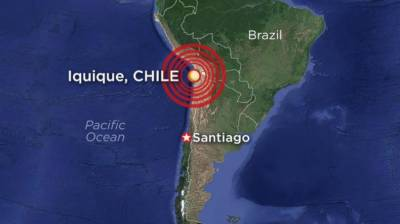 چلی میں 7.1شدت کے زلزلے کے بعد سونامی کا خطرہ