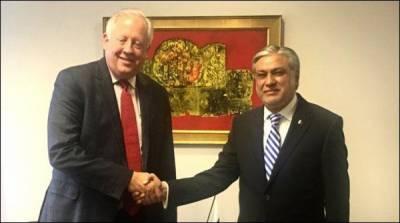 اسحاق ڈار کی امریکی نائب وزیر خارجہ سے ملاقات، اہم امور پر تبادلہ خیال