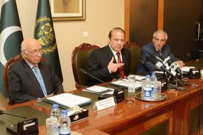 اسلام آباد: طارق فاطمی کی وزیر اعظم نواز شریف سے ملاقات، استعفیٰ لئے جانے کا امکان