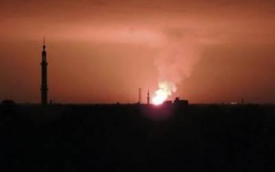 اسرائیل کا شام میں فوج کے اسلحہ ڈپو پر حملہ